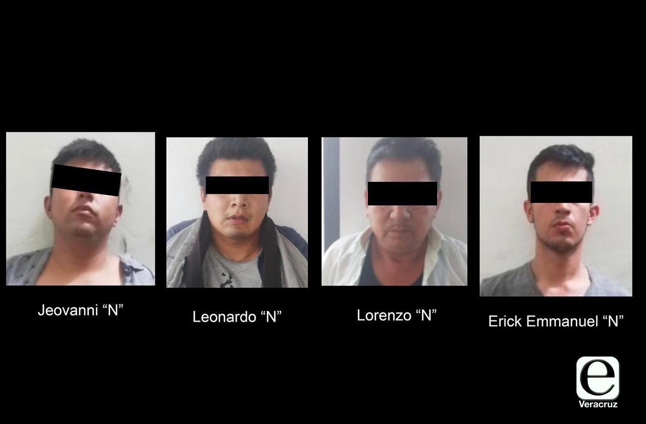 Liberan a 3 secuestrados en Xalapa, caen 4 del CJNG