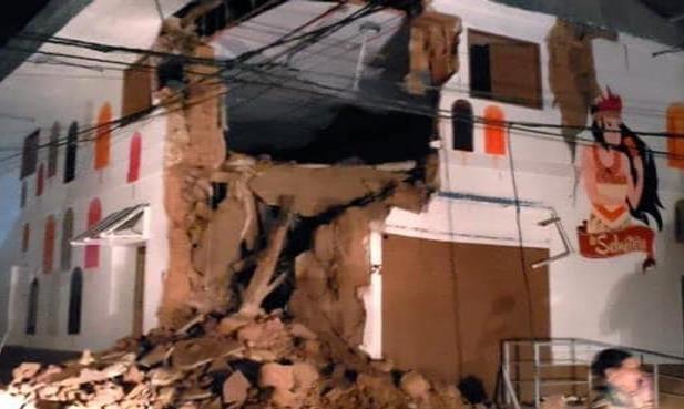 Terremoto sacudió Perú; un muerto y 5 heridos