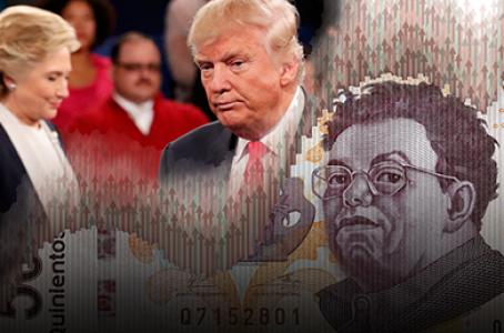 Escándalo de Trump le da fuerza al peso