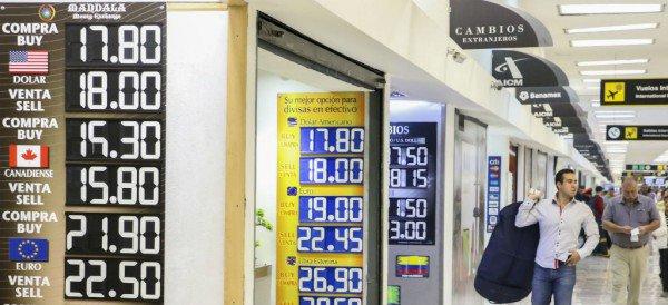 Peso se deprecia y cotiza en 18.53 en ventanillas bancarias