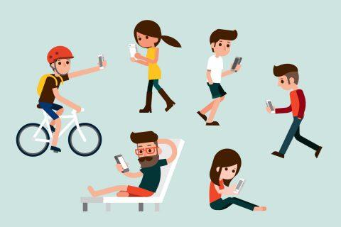 Tu adicción al celular podría causarte estas enfermedades
