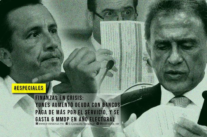 Yunes heredará a Cuitláhuac deuda pública de más de 80 mil millones de pesos