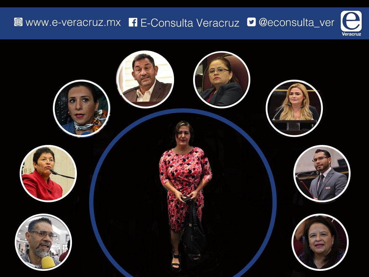 Eva Cadena cimbra al Congreso de Veracruz