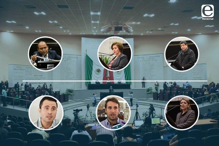 Siete enroques en el Congreso de Veracruz