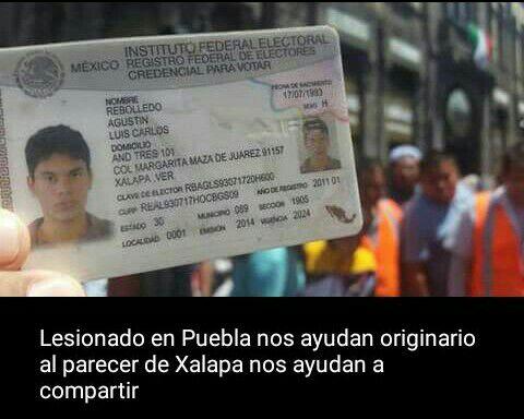 Reportan estable a estudiante xalapeño herido en Puebla