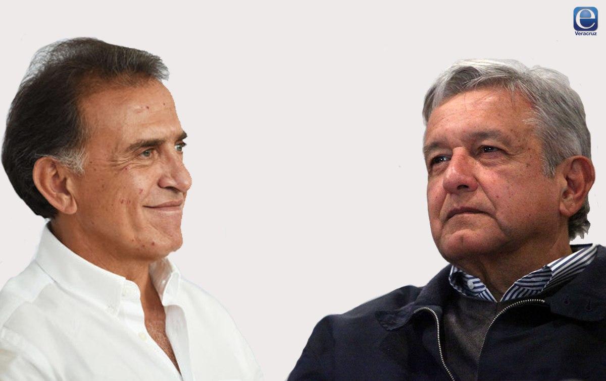 Yunes Linares y López Obrador se agarran a tuitazos