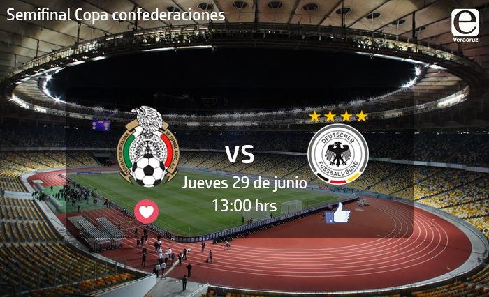 Dónde y cómo ver el partido de México vs Alemania
