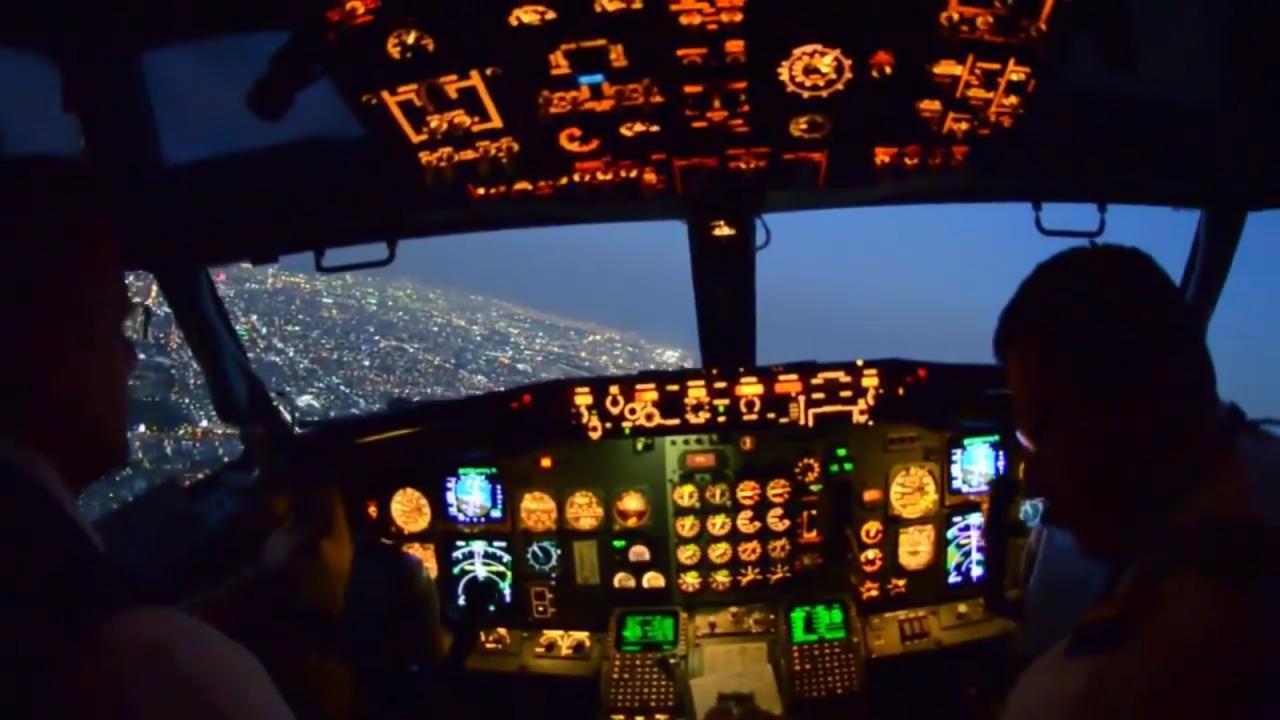 Un aterrizaje en CDMX desde los ojos del piloto