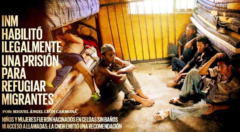 La exprisión de Veracruz habilitada ilegalmente como refugio de migrantes