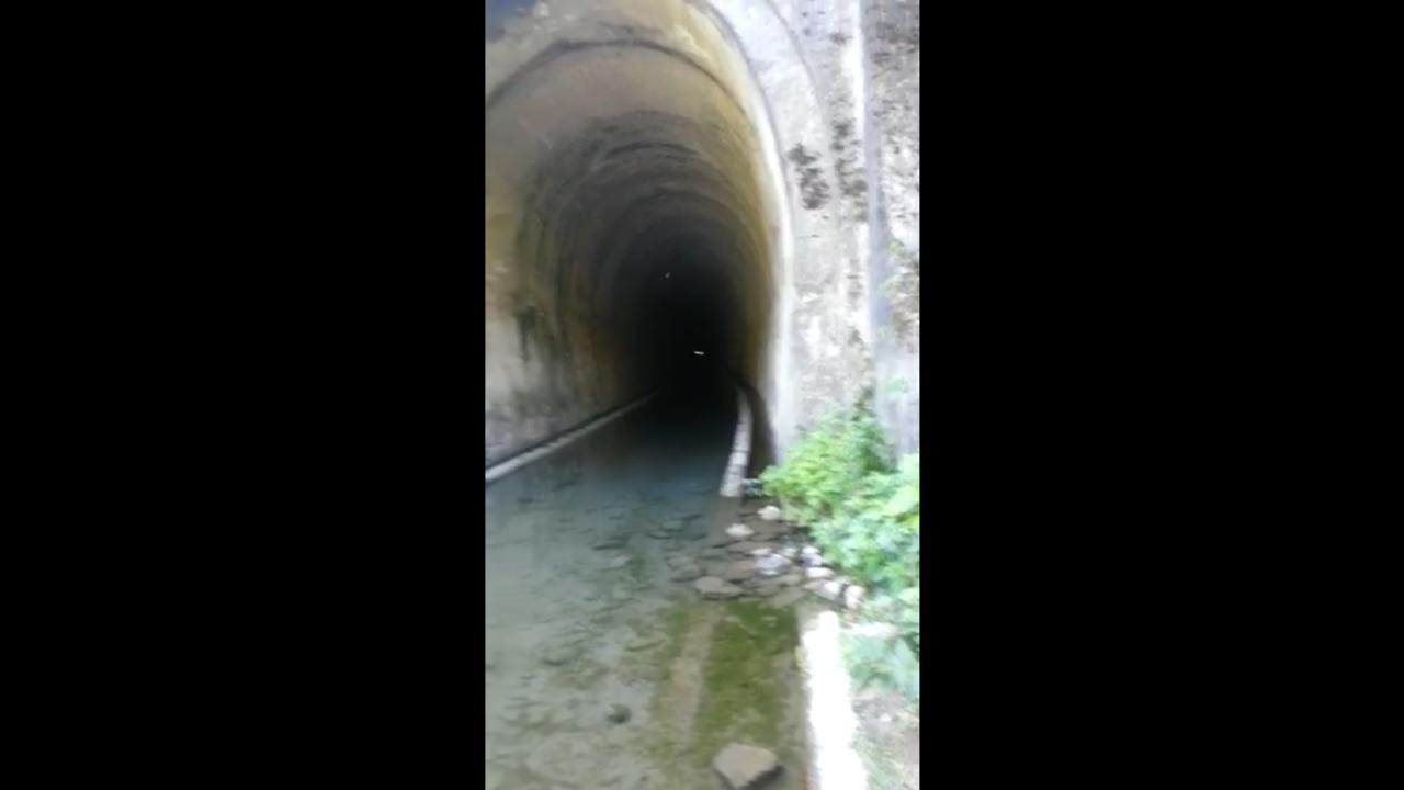 Detectan canto fantasmal en túnel