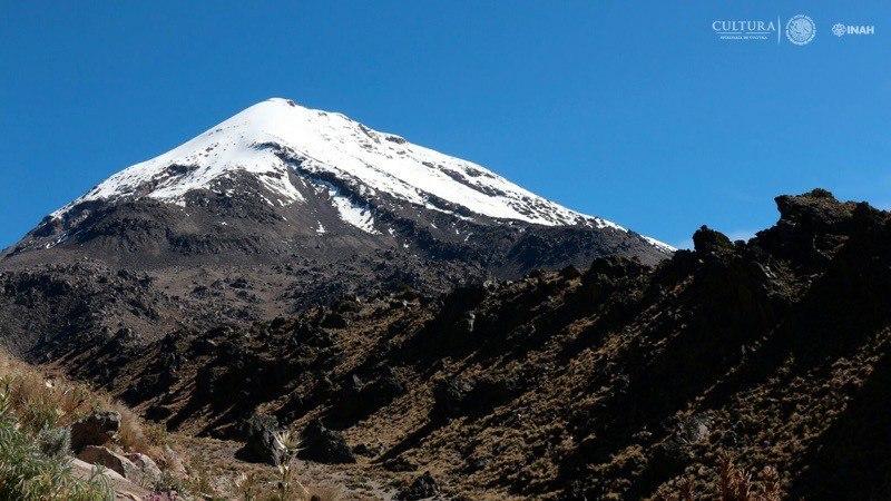 INAH reporta hallazgo de sitio arqueológico en el Pico de Orizaba