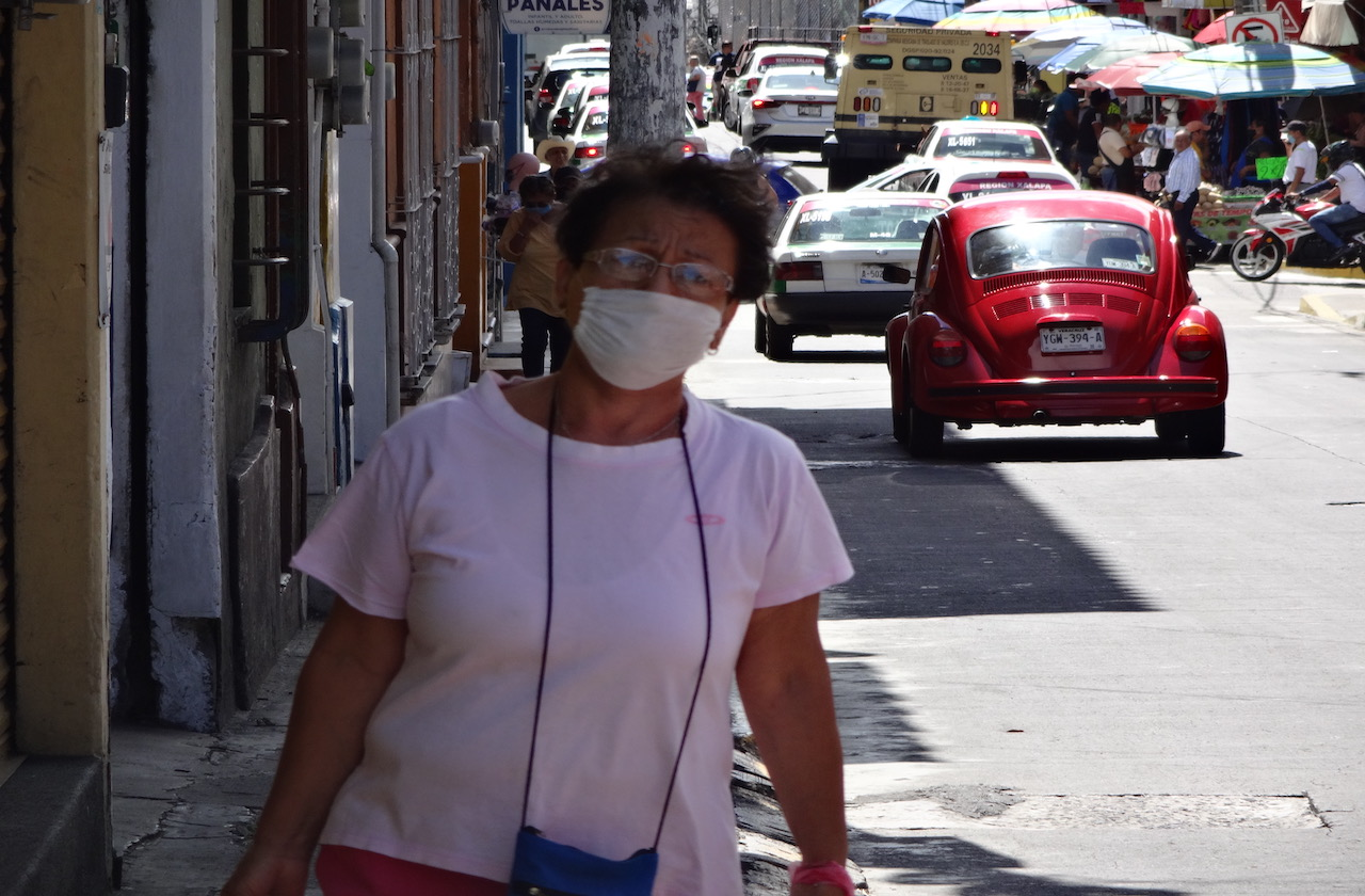 Movilidad aumentó 4% en Veracruz pese a pandemia