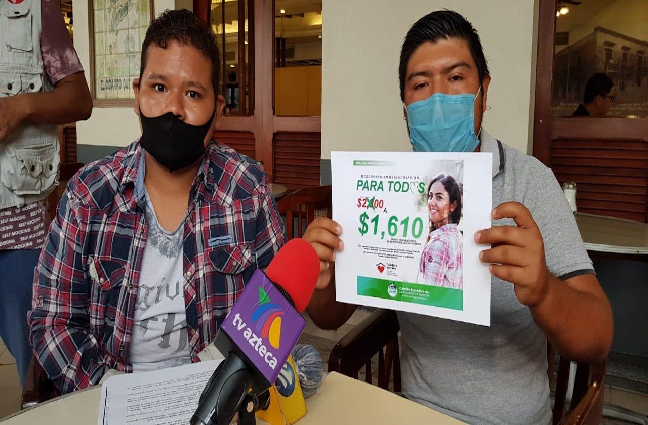 Piden alumnos del ITBOCA bajar cuotas de inscripción por pandemia