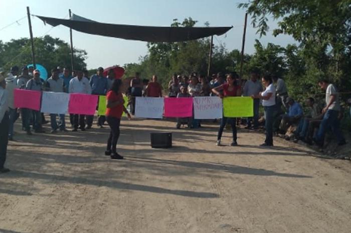 Protestan en Pinoltepec para clausurar relleno sanitario