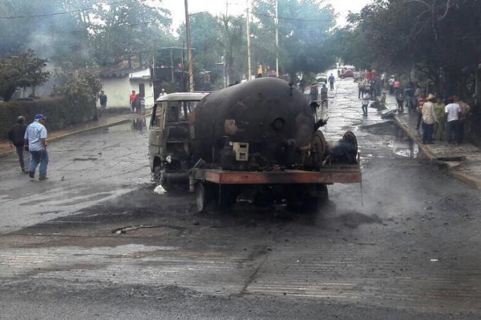 Heridos por flamazo en Tlalixcoyan son trasladados a Veracruz