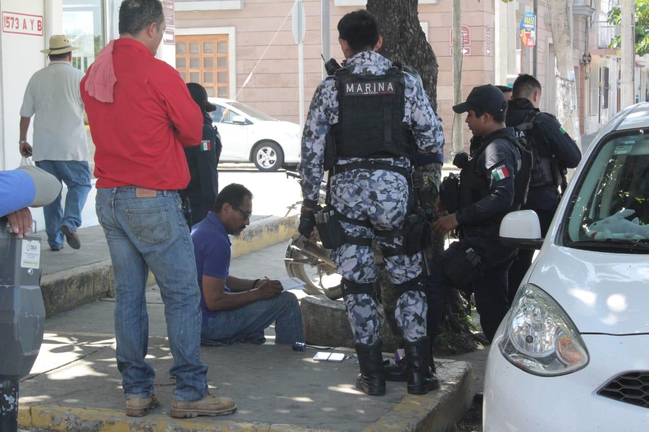 Policía Naval rescata a hombre de presunto secuestro, en Veracruz