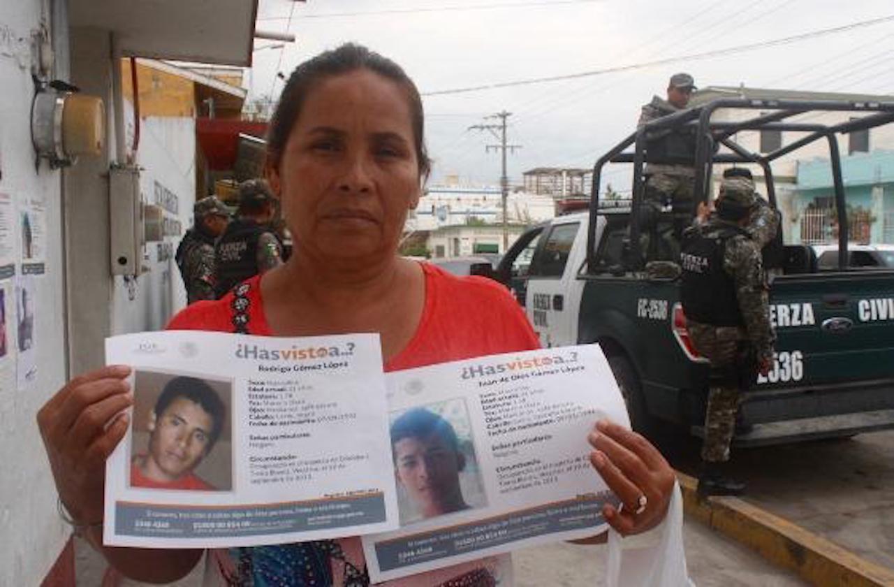Plagian a madre de desaparecidos en Tierra Blanca