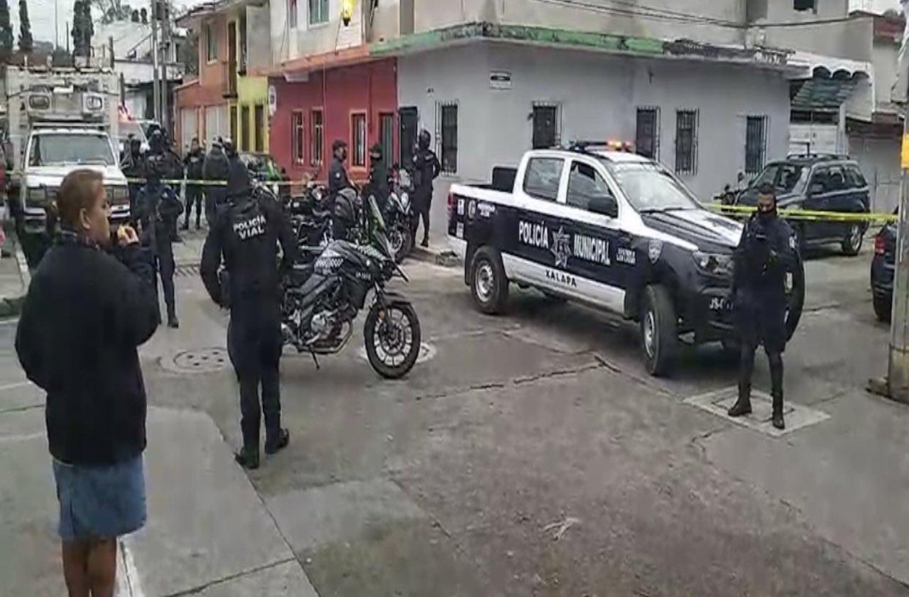 Plagio desata fuerte operativo en zona de Los Sauces, en Xalapa