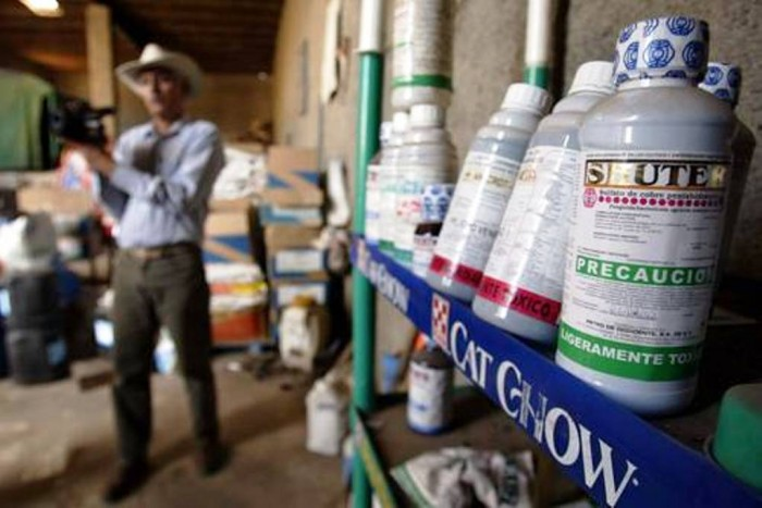 Sin control el uso de plaguicidas en México y Veracruz