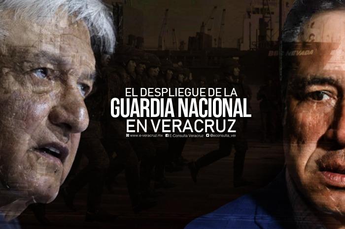 Veracruz será resguardado por 18 destacamentos de la Guardia Nacional