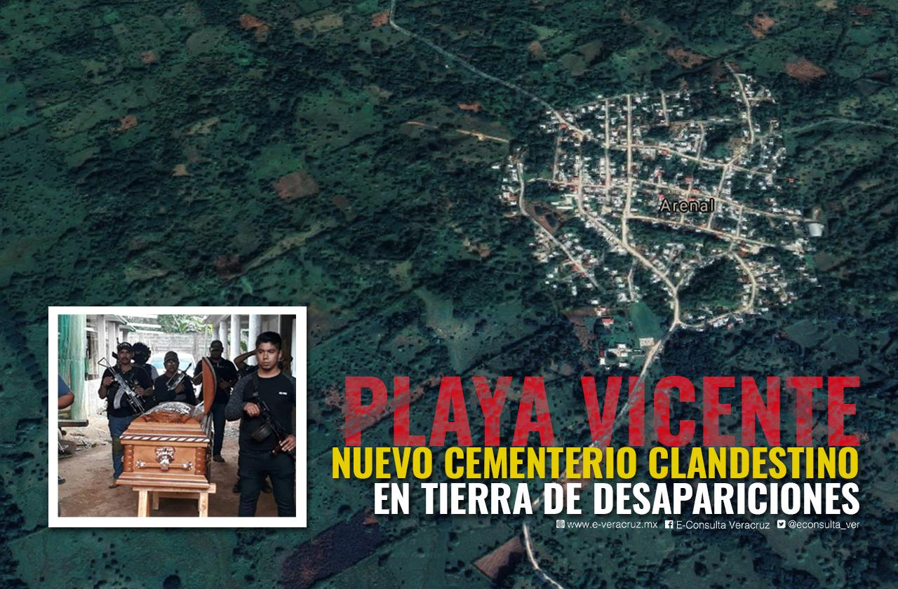 Confirman primeras 5 fosas en cementerio clandestino de Playa Vicente