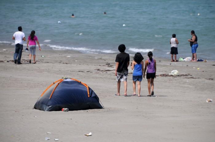 SSP retirará a turistas que percnoten en playas de Veracruz