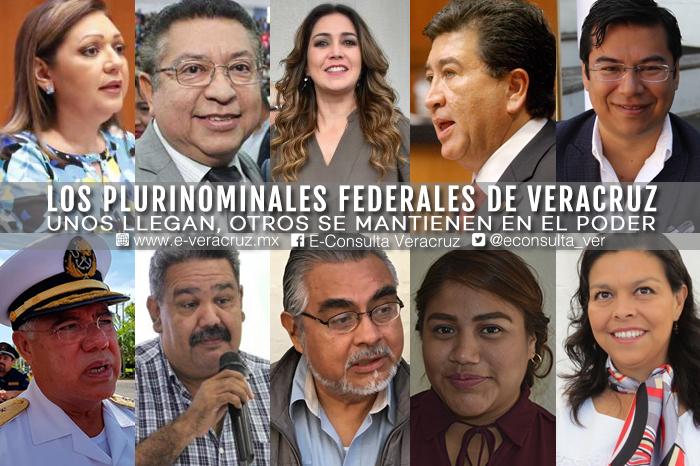 Ellos son los 12 veracruzanos que lograron una pluri federal