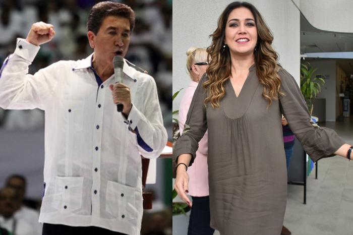 Anilú Ingram y Héctor Yunes apoyarán en la coordinación de diputados priistas