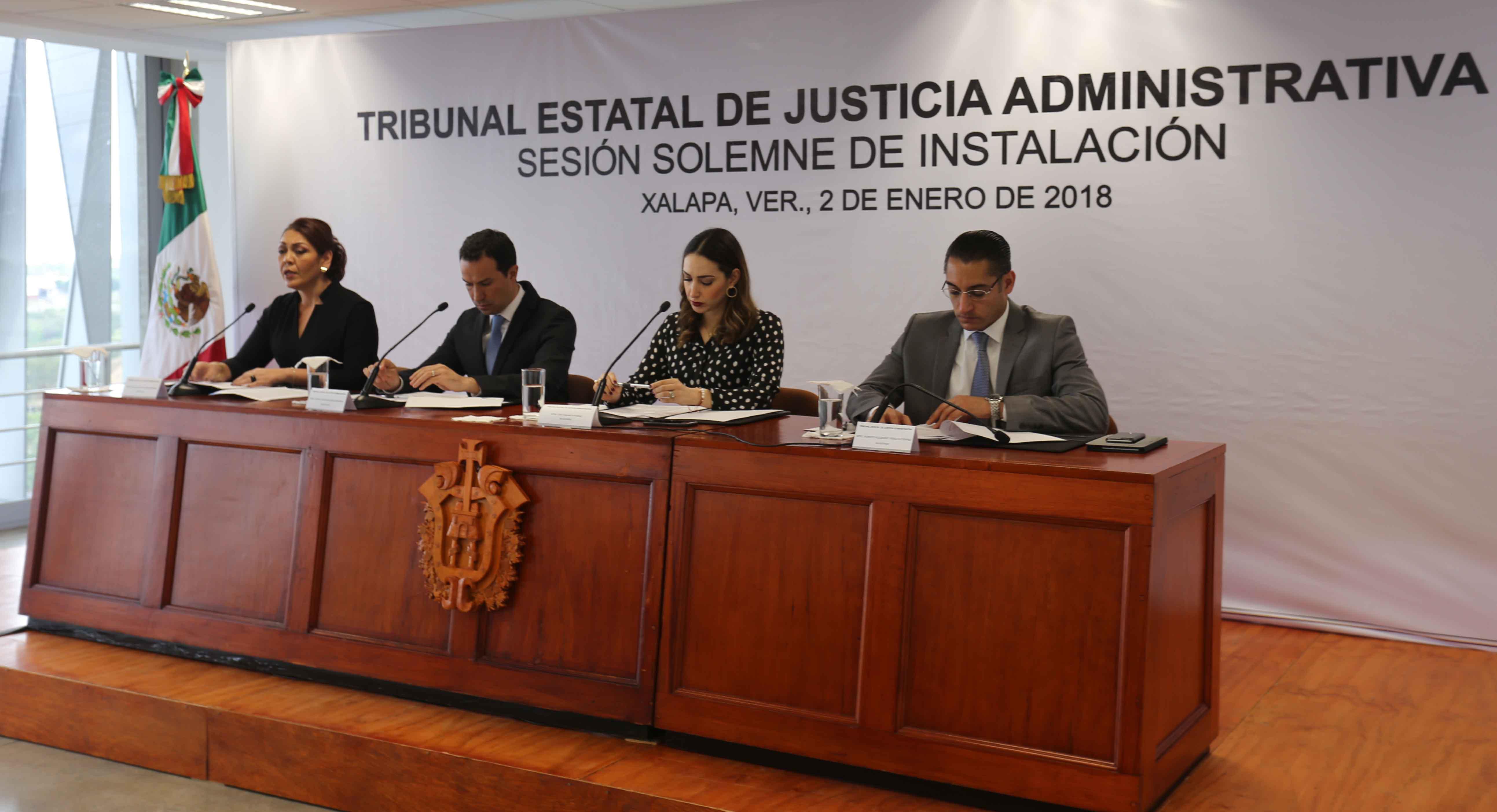 Tribunal de Justicia Administrativa de Veracruz consolida su autonomía al haber sido aprobado su presupuesto