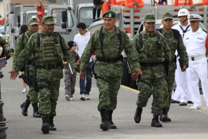 Policía Militar ingresa a Veracruz, Gendarmería se concentrará en Xalapa