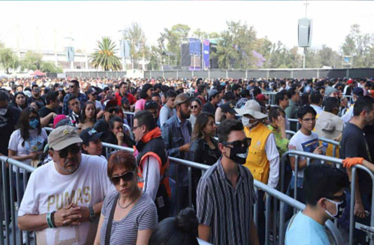 Policía fallecido por covid-19 ya presentaba síntomas en Vive Latino