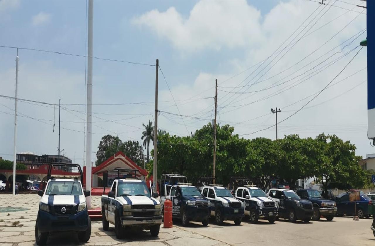 Confirman brote de covid en policía municipal de Las Choapas