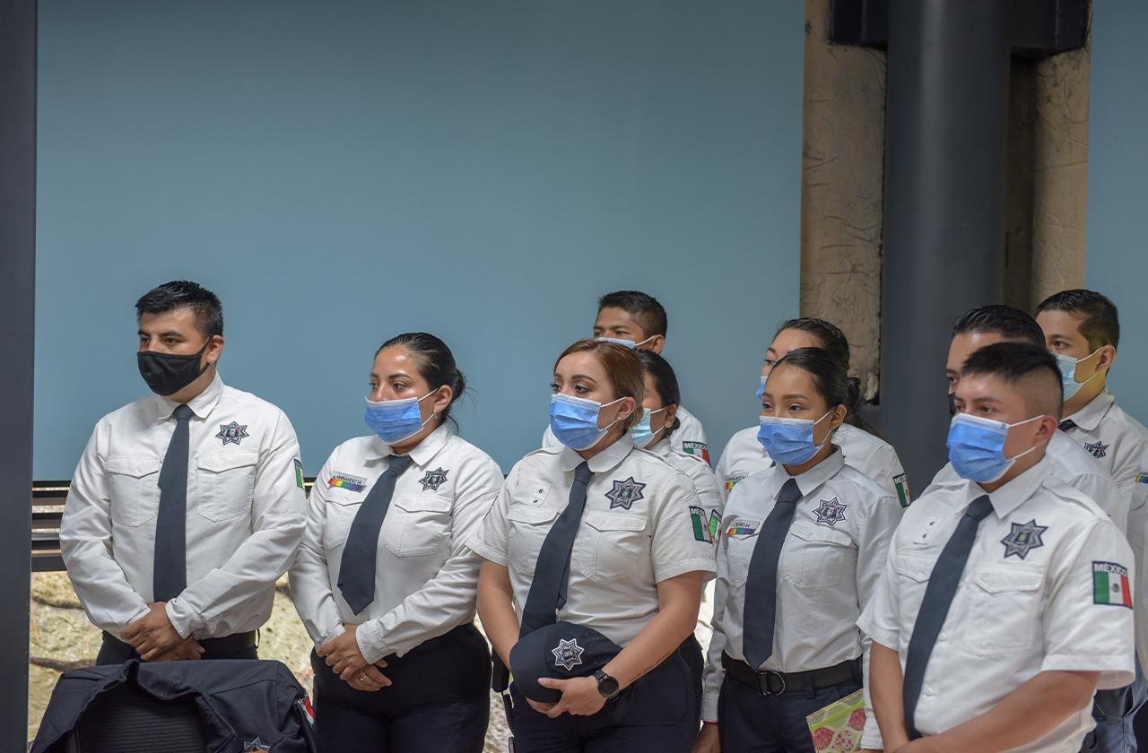 Capacitarán policía de Xalapa en atención de violencia contra la mujer