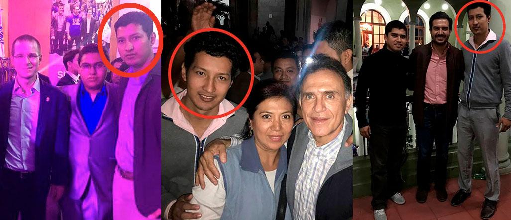 Policía detenido en Martínez presumía fotos con panistas