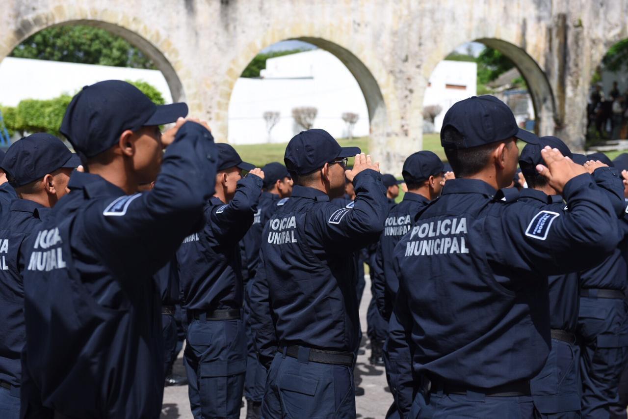 Cuarenta por ciento de los municipios veracruzanos siguen sin policía municipal