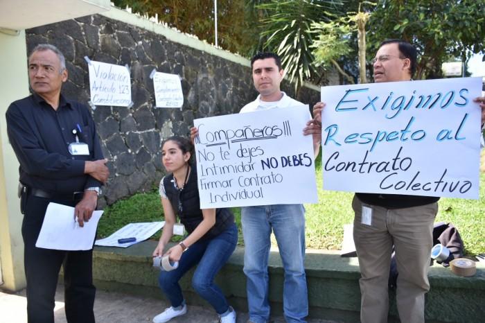 Podrían ser despedidos 400 trabajadores del Seguro Popular