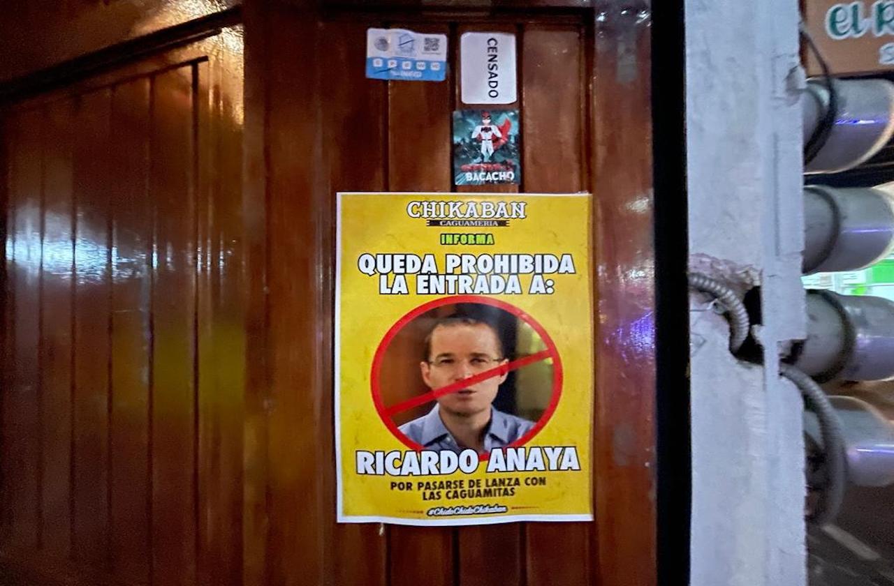 Por criticar caguamas, bar de Coatepec prohíbe entrada a Anaya