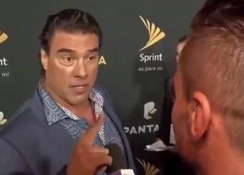 Por esta razón Yañez se puso agresivo con reportero