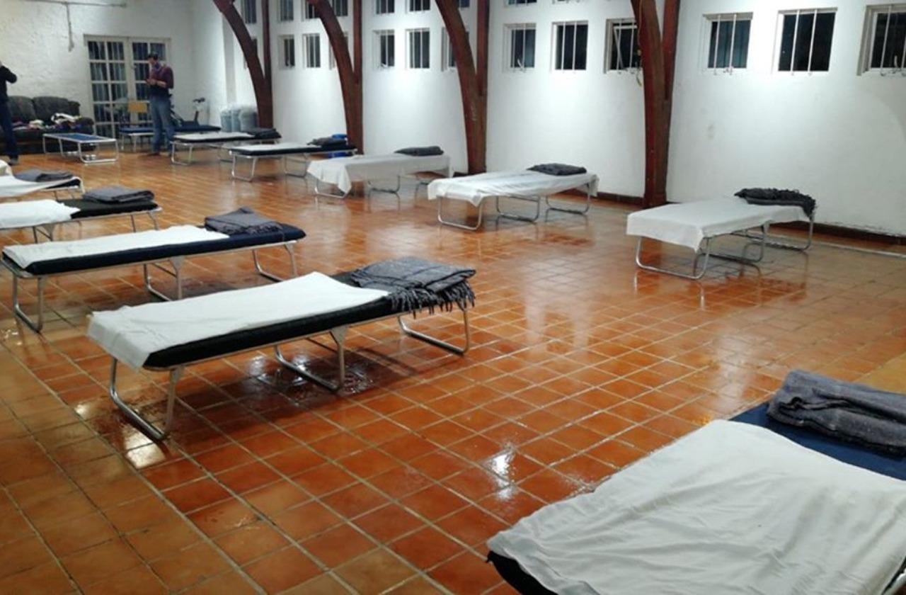 Por inundaciones en Xalapa, habilitan albergue en Aldea Meced