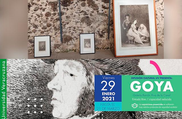 Por segunda ocasión llega la obra de Goya Lucientes a Xalapa