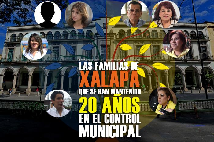 Dos familias enquistadas en el poder municipal de Xalapa