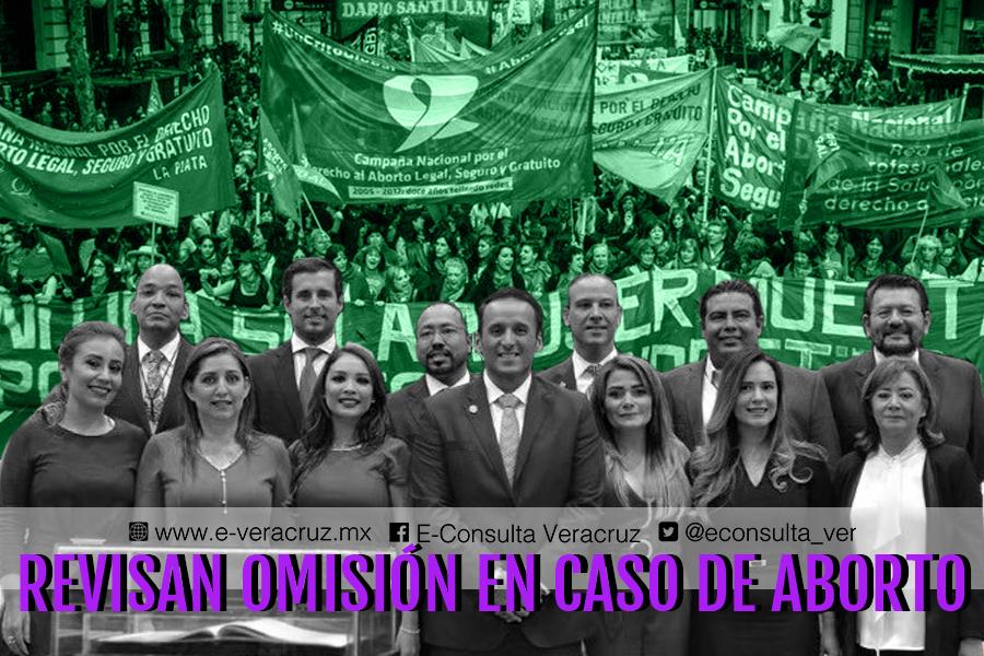 Legalización del aborto pone en jaque a diputados de Veracruz