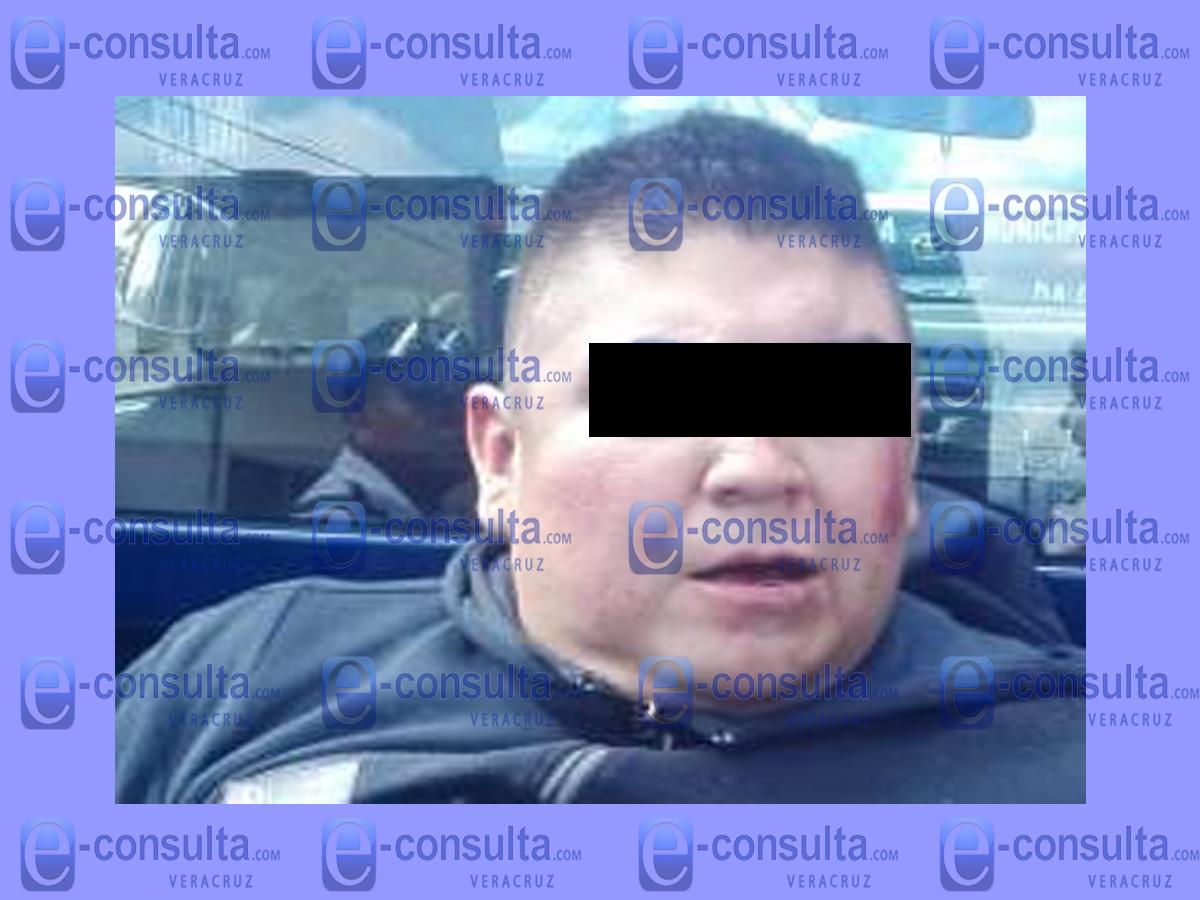 Vecinos frustran secuestro y atrapan a delincuente, en Orizaba