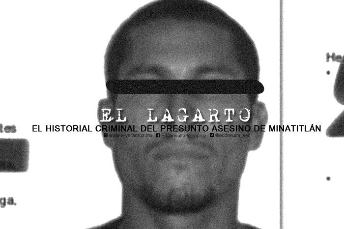 El Lagarto, presunto asesino de Minatitlán y su historial criminal en el sureste