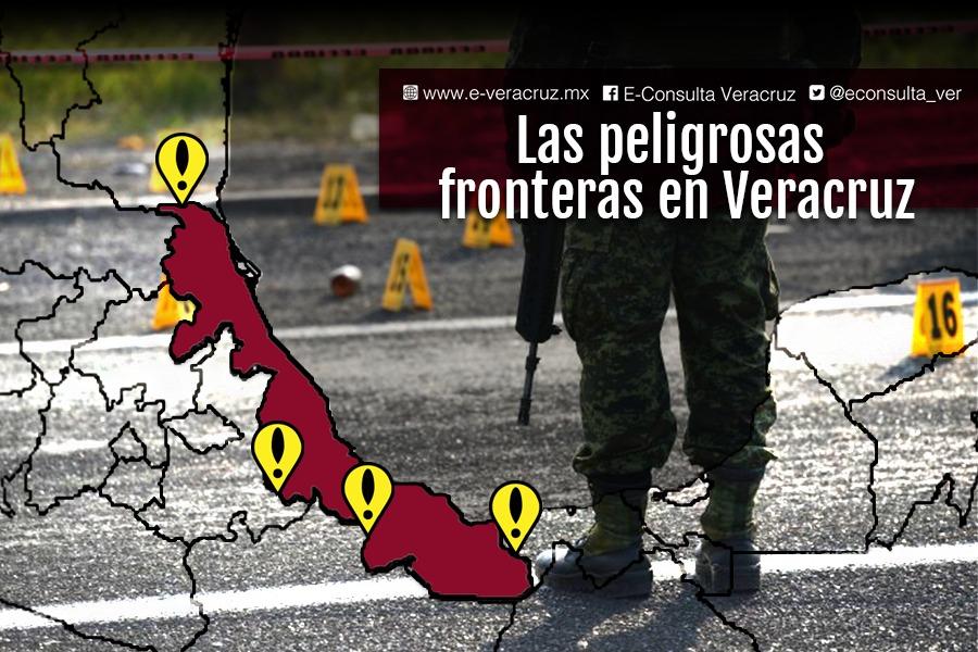 Delincuencia acecha fronteras de Veracruz