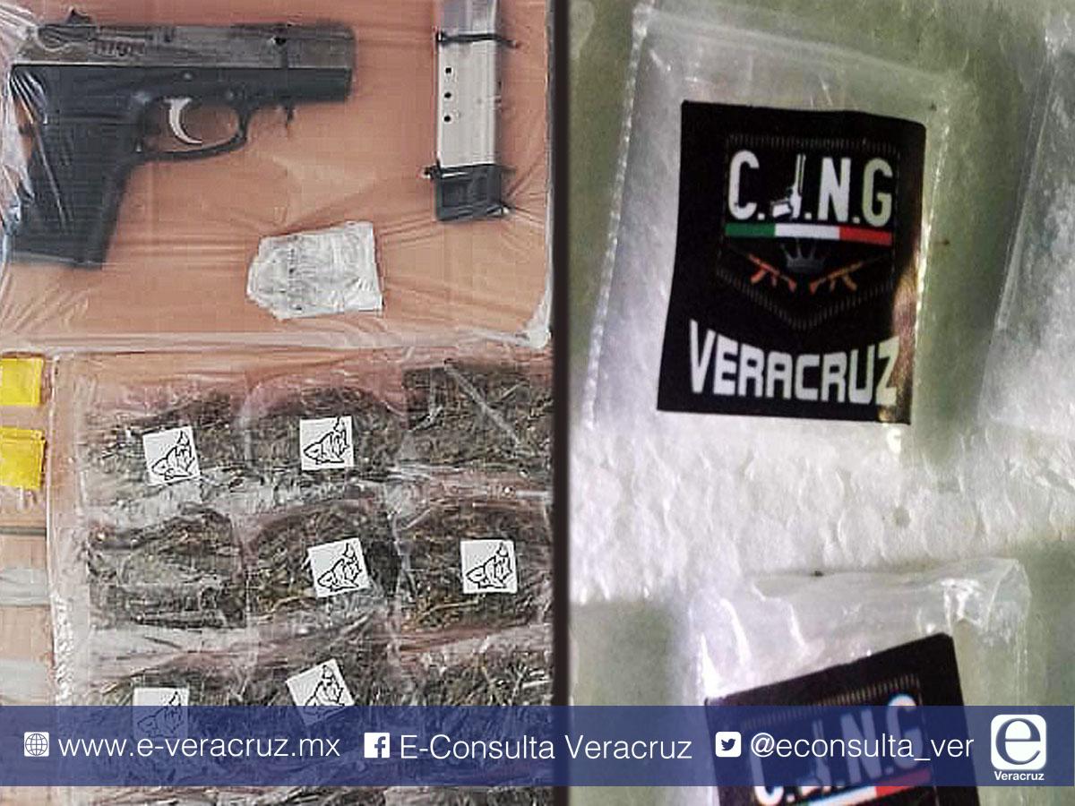 ¿Zeta o CJNG?: Con colores y dibujos, cárteles identifican su droga en Veracruz