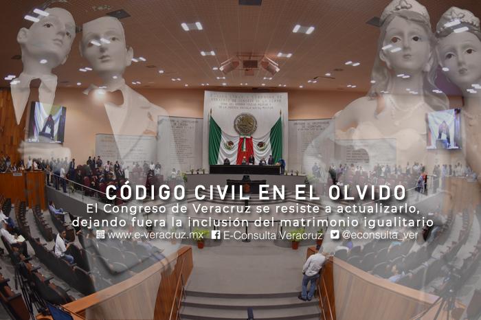 Matrimonio igualitario el gran pendiente de diputados de Veracruz