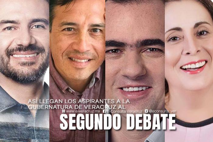 5 datos sobre el segundo debate entre candidatos a la gubernatura