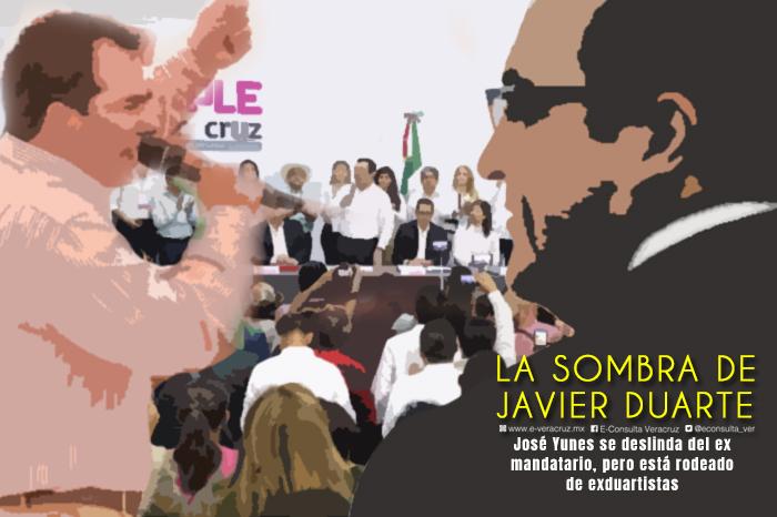 La sombra de Duarte que rodea las campañas del PRI en Veracruz