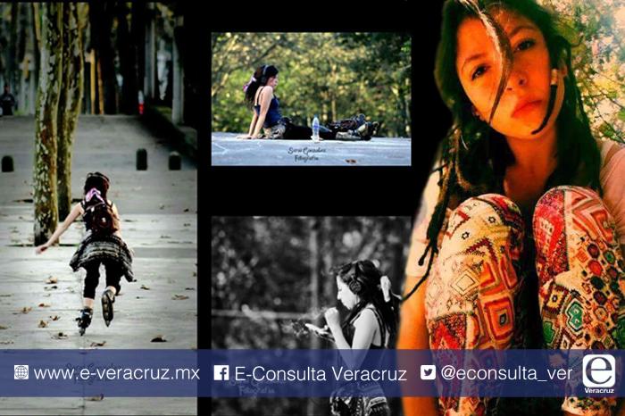 Magaly, la joven que amaba patinar por plazoletas de Xalapa